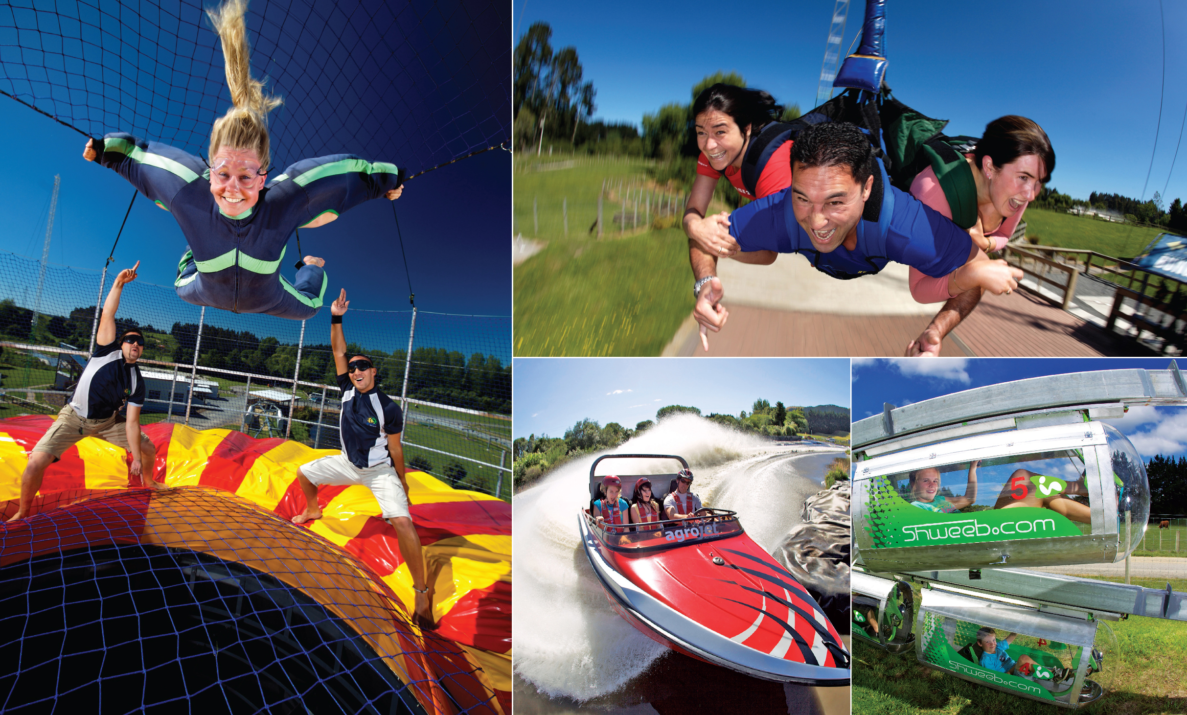 Rotorua Bungy - Agroventures Adventure Park - Agroventures family pass - Book Online