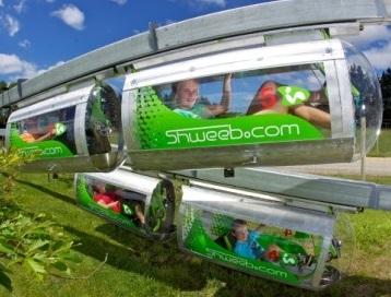 Shweeb Ride in Rotorua