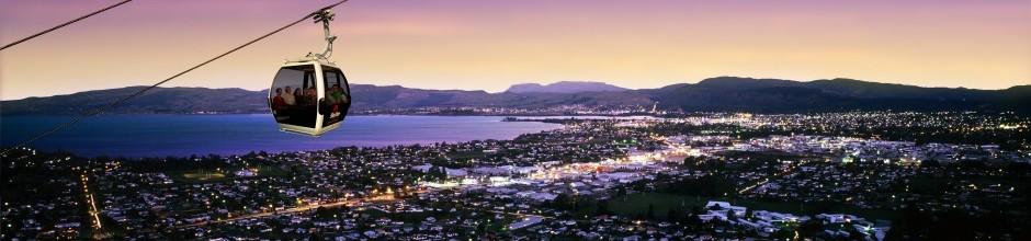 Skyline Rotorua Panorama