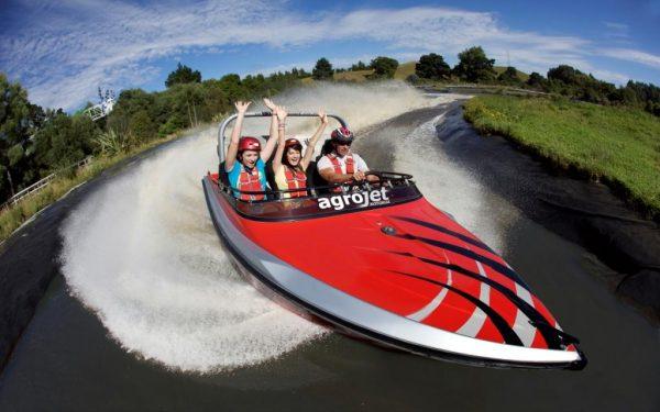 AGROJET - Jet Boat Experience at Velocity Valley Rotorua