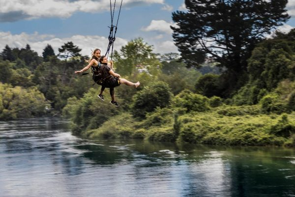 Taupo Cliffhanger Extreme Swing