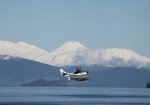 Taupo Float Plane Mt Ruapehu Lake Taupo