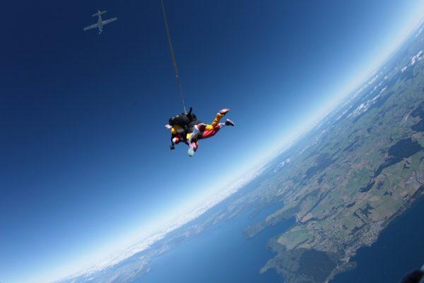 Taupo Tandem Skydiving Taupo