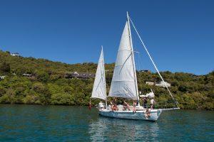 Barbary sail boat