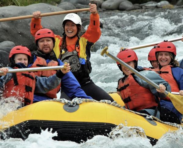 Tongariro River Rafting