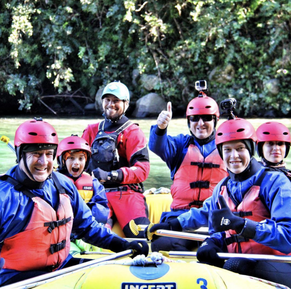 Tongariro River Rafting Family Float with Rotorua Super Passes