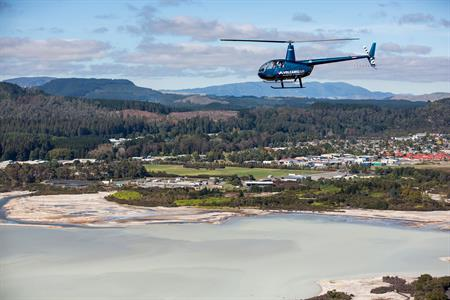 Scenic Crater Lake Flights over Rotorua - Book now