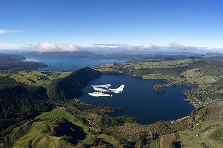 Scenic Crater Lakes Tour over Rotorua by Floatplane - Book Now
