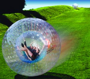 Zydro Zorb Globe for Three - Rotorua Superpasses - great weekend visit options