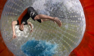 The Ultimate thrill. Try the ZYDRO zorb for one. Book Online