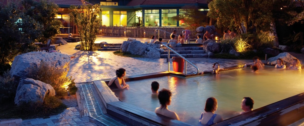 Polynesian spa - Rotorua Super Passes - a great weekend visit attraction