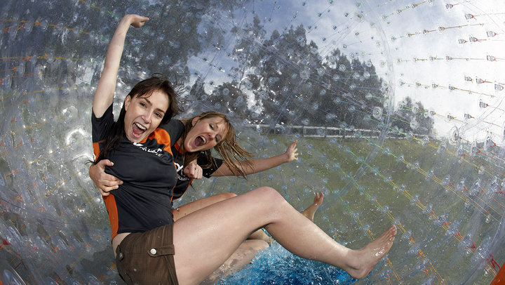 Zydro zorbing in Rotorua is fun for all the family - Zydro Wet Ride