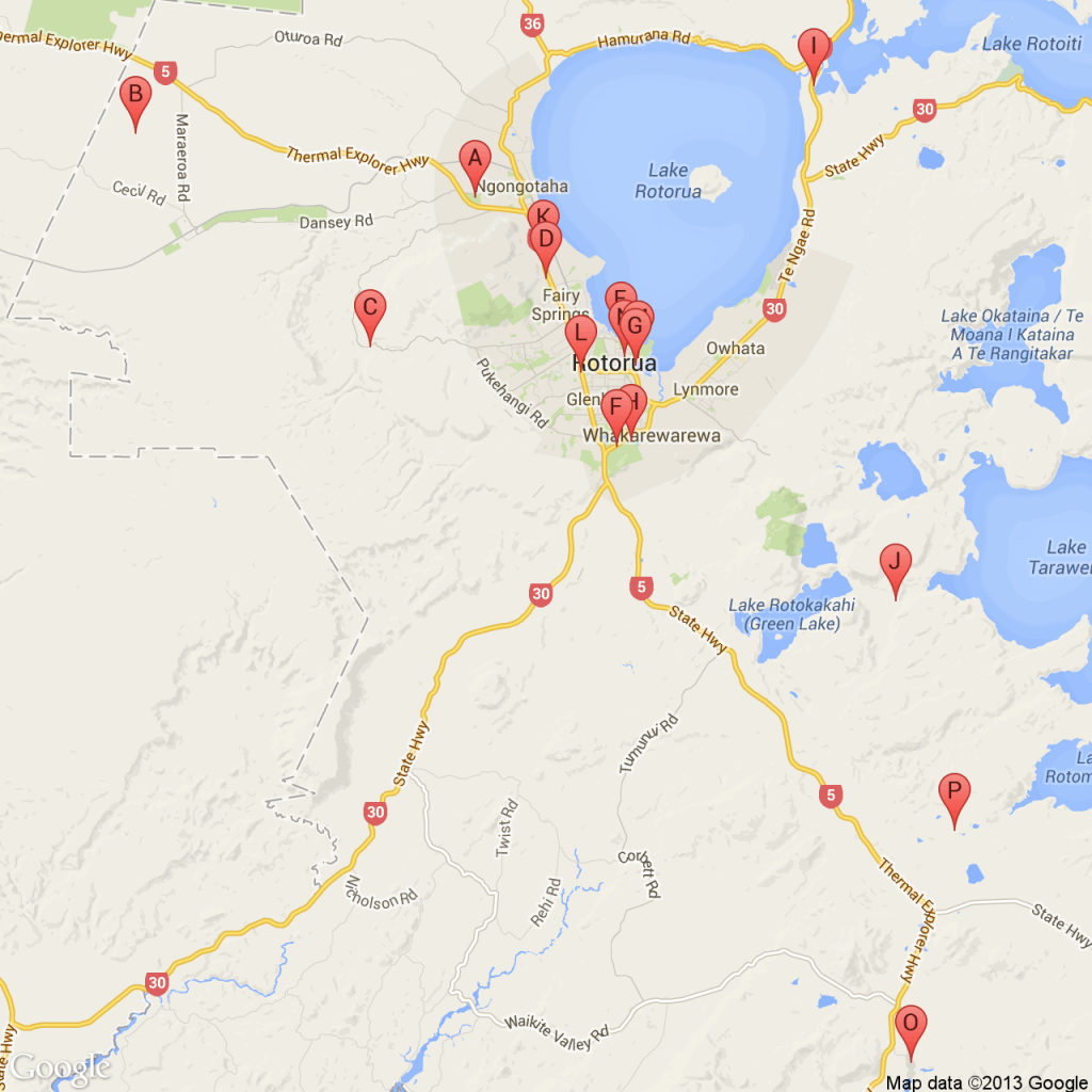 Rotorua Super Passes Location